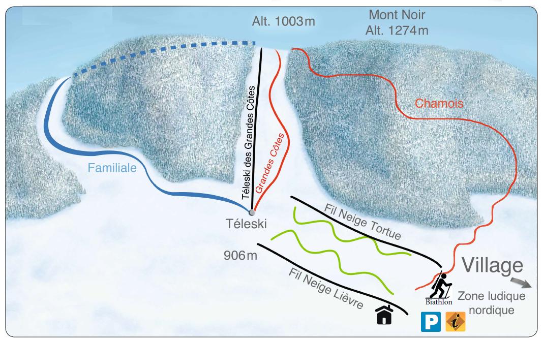 teleski Ski alpin