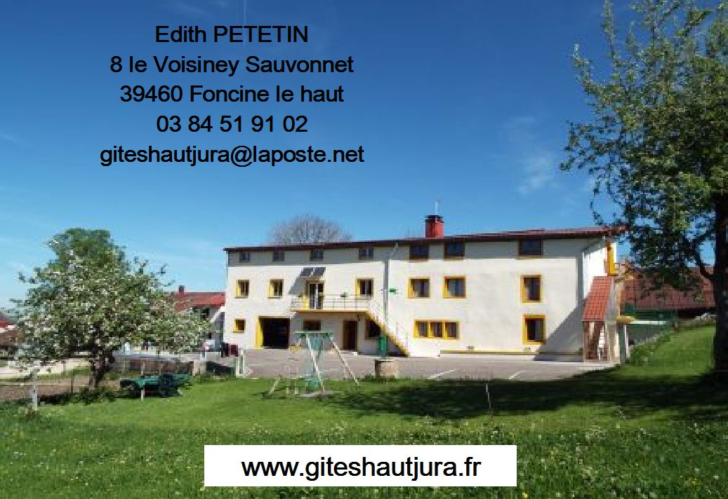 carte Edith GITES PETETIN Edith
