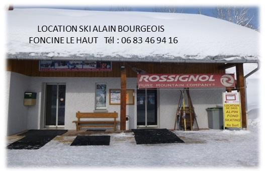 tarif commune3 Alain BOURGEOIS   Location de skis