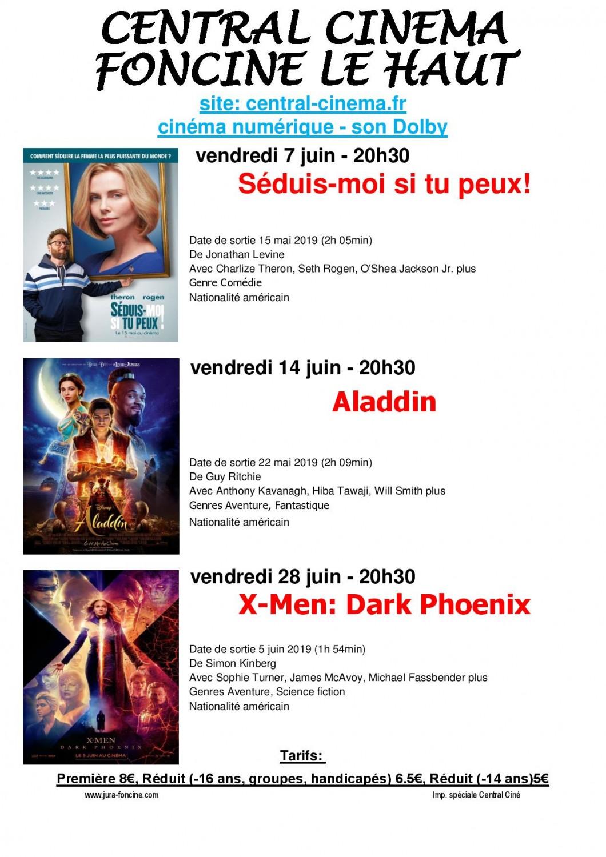 juin 2019 3 page 001 1060x1500 Cinéma à 20h30 : X Men : Dark Phoenix