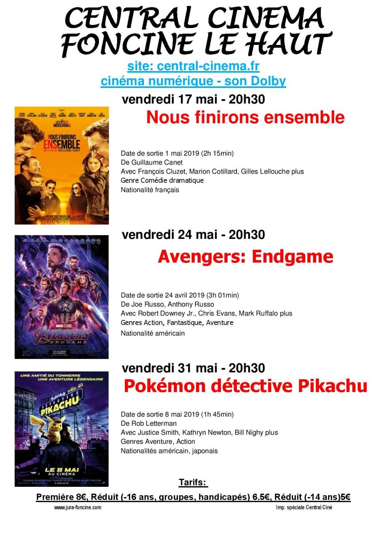 mai 2019 3 page 001 1060x1500 Cinéma à 20h30 : Avengers : Endgame